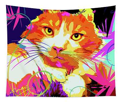 pOpCat Freeway, rescued from the freeway Tapestry
