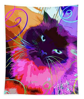 pOpCat Misha Tapestry