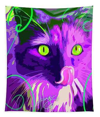pOpCat Slick Tapestry