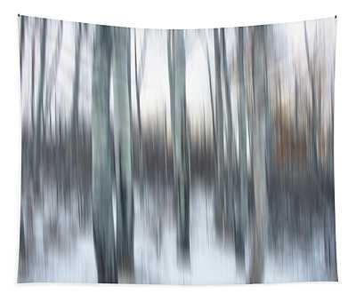 Poplar Blur Tapestry