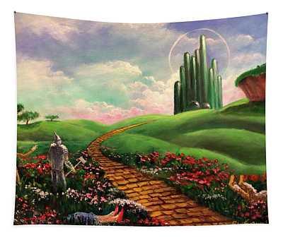 Poppies Will Make Them Sleep Tapestry