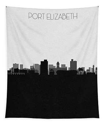 Port Elizabeth Cityscape Art Tapestry