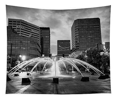 Portland Fountains Tapestry