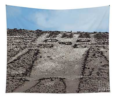 Portrait Of The Atacama Giant Chile Tapestry