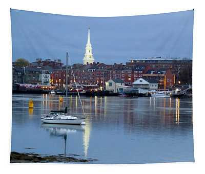 Portsmouth Across The Piscataqua River Tapestry