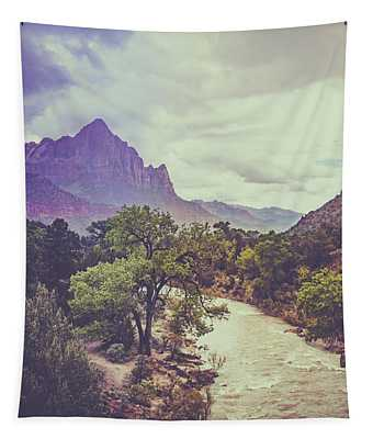 Postcard Image Tapestry