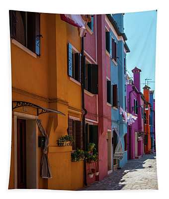 Postcards From Burano II Tapestry