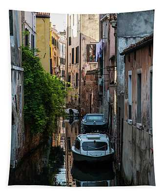 Postcards From Venice IIi Tapestry