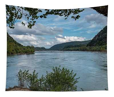 Potomac River At Harper's Ferry Tapestry