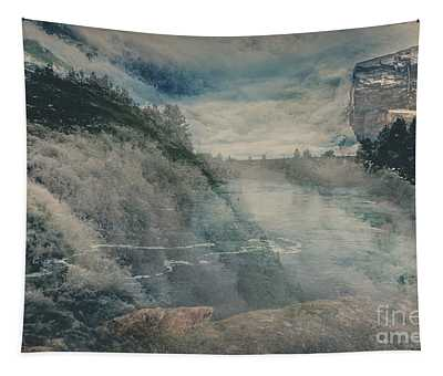 Tapestry featuring the photograph Power Of Water In Motion - Post Falls by Matthew Nelson