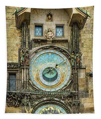 Prague Clock Tapestry