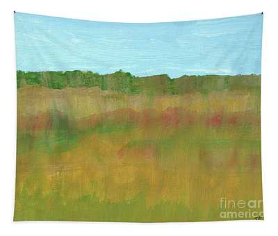 Prairie Abstract Tapestry