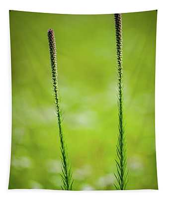 Prairie Blazing Star Tapestry