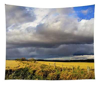 Prairie Thunderstorm Tapestry