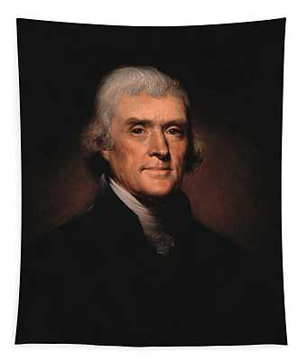 President Thomas Jefferson  Tapestry