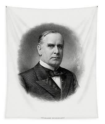 President William Mckinley Tapestry