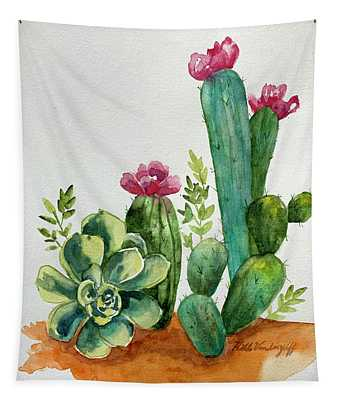 Prickly Cactus Tapestry