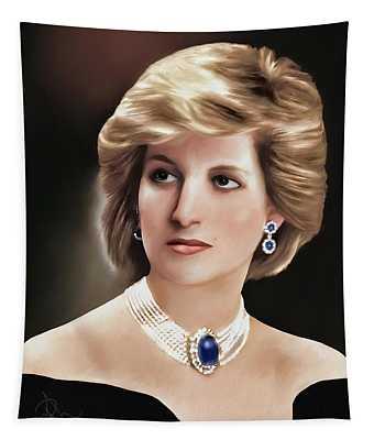 Princess Diana Tapestry