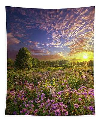 Promising A New Day Tapestry