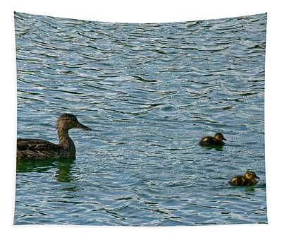 Proud Mom Tapestry