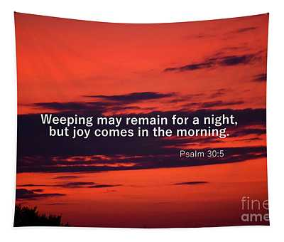 Tapestry featuring the photograph Psalm 305 by Patti Whitten