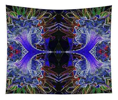 Psychedelic  Mandela-1 Tapestry