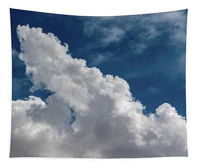 Puffy White Clouds Tapestry