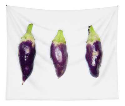 Purple Chillies Tapestry