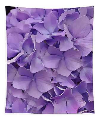 Purple Hydrangea  Tapestry