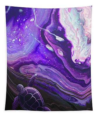 Purple Munchkin Tapestry