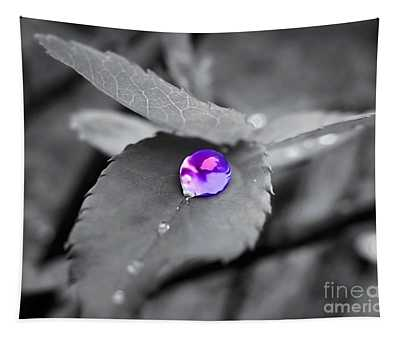 Tapestry featuring the photograph Purple Pearl by Patti Whitten