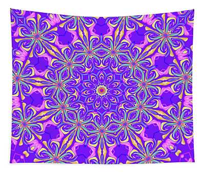 Purple Potpourri Tapestry