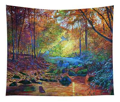 Quiet Autumn Moments Tapestry