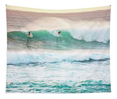 Race For The Wave Tapestry
