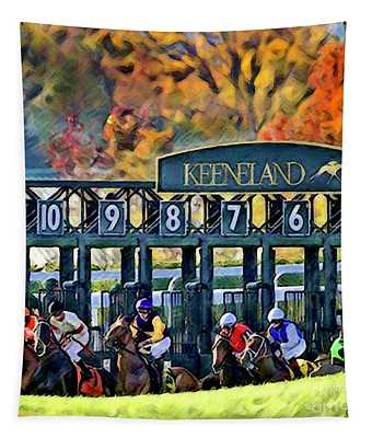 Fall Racing At Keeneland  Tapestry