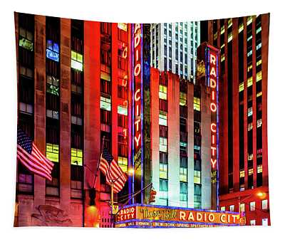 Radio City Music Hall Tapestry