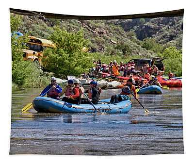 Rafting John Dunn Bridge 13 Tapestry
