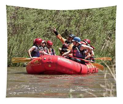Rafting John Dunn Bridge 23 Tapestry