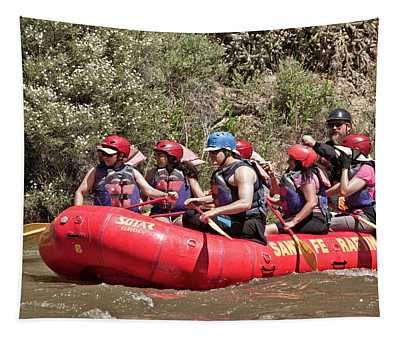 Rafting John Dunn Bridge 25 Tapestry