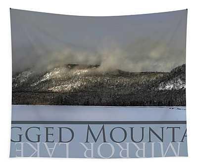 Ragged Mountain Mirror Lake Tapestry
