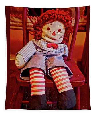 Raggedy Ann Doll Tapestry