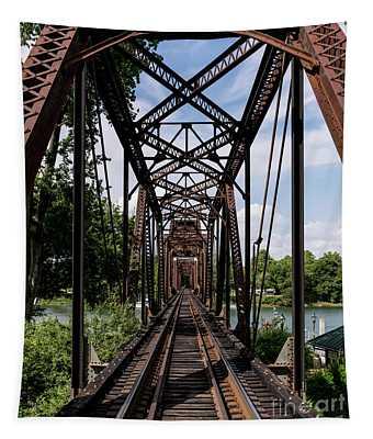 Railroad Bridge 6th Street Augusta Ga 1 Tapestry