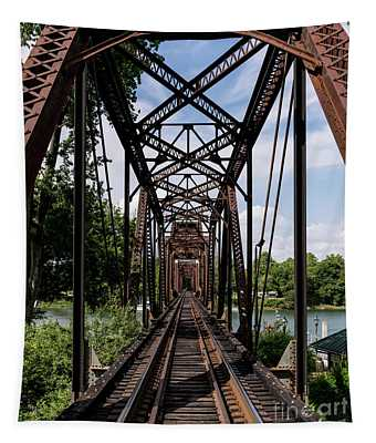Railroad Bridge 6th Street Augusta Ga 1 Tapestry