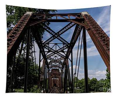 Railroad Bridge 6th Street Augusta Ga 2 Tapestry