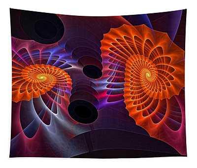 Rainbow Aerobics Tapestry