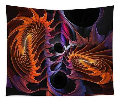 Rainbow Incursion Tapestry