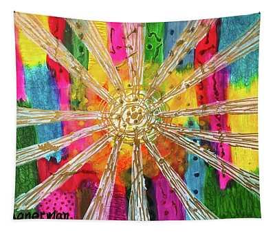 Rainbow Revelation Tapestry