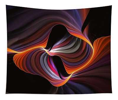 Rainbow Serpent-2 Tapestry