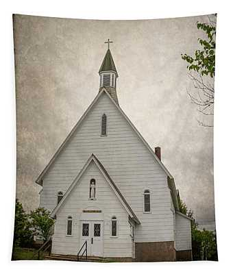 Raquette Lake Chapel Tapestry
