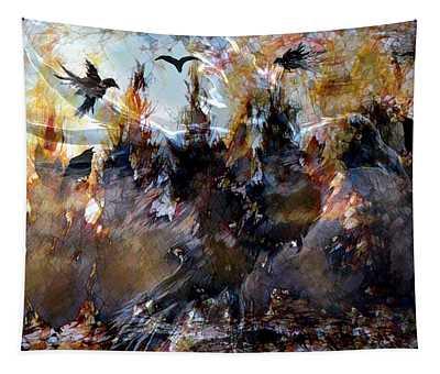 Raven Spirits Tapestry